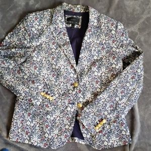 J. Crew Cotton Blazer